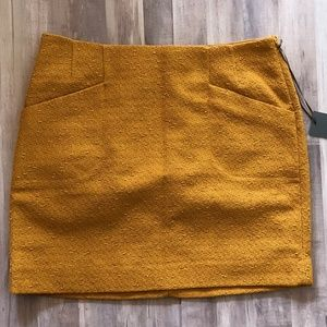 Outback Red Mustard Yellow Mini Skirt